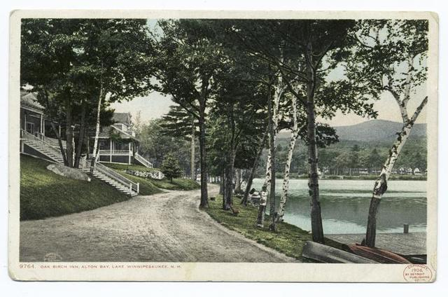Oak Birch Inn, Alton Bay, Lake Winnipesaukee, N. H.