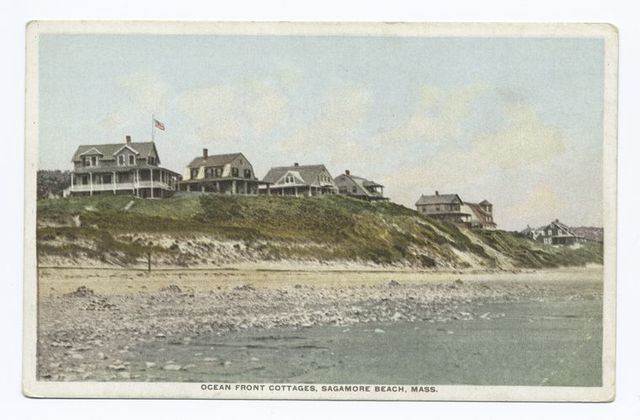 Ocean Front Cottages, Sagamore Beach, Mass.