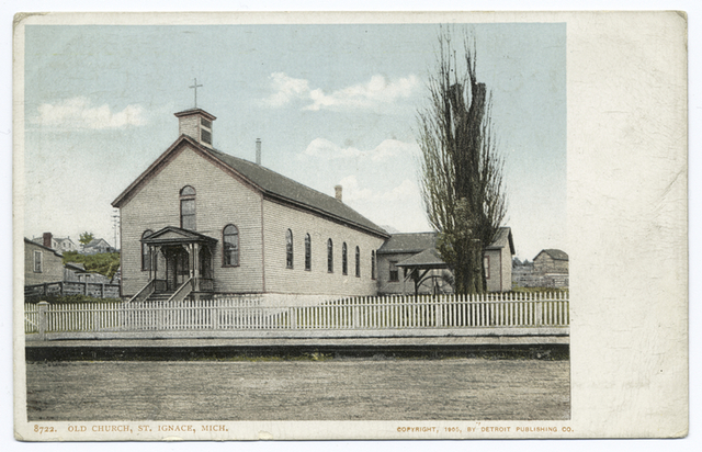 Old Church, St. Ignace, Mich.