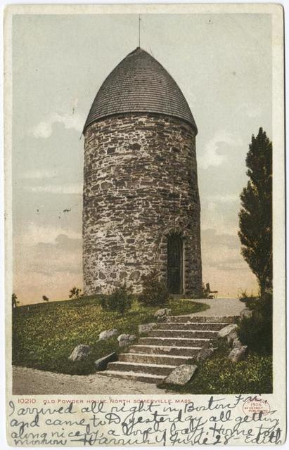 Old Powder House, Somerville, Mass.
