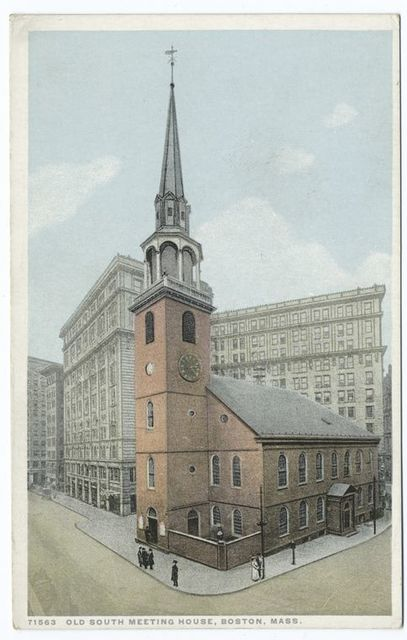 Old South Meeting House, Boston, Mass.