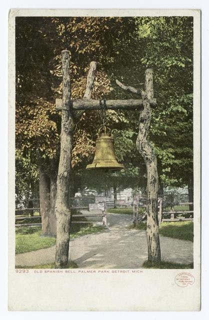 Old Spanish Bell, Palmer Park, Detroit, Mich.