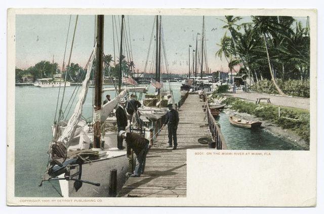 On the Miami  River, Miami, Fla.