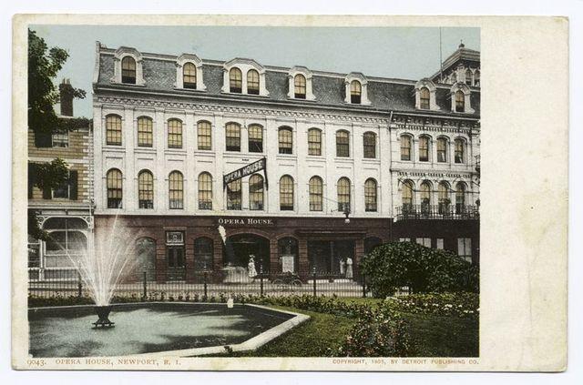 Opera House, Newport, R. I.