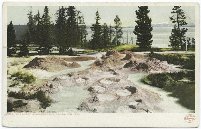 Paint Pots, The Thumb (Mud Geyser), Yellowstone Park