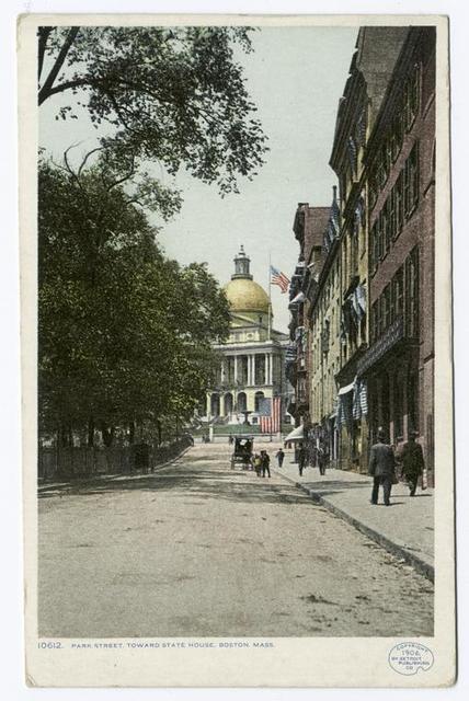 Park Street, toward State House, Boston, Mass.