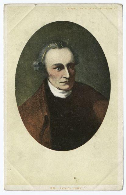 Patrick Henry, Portrait