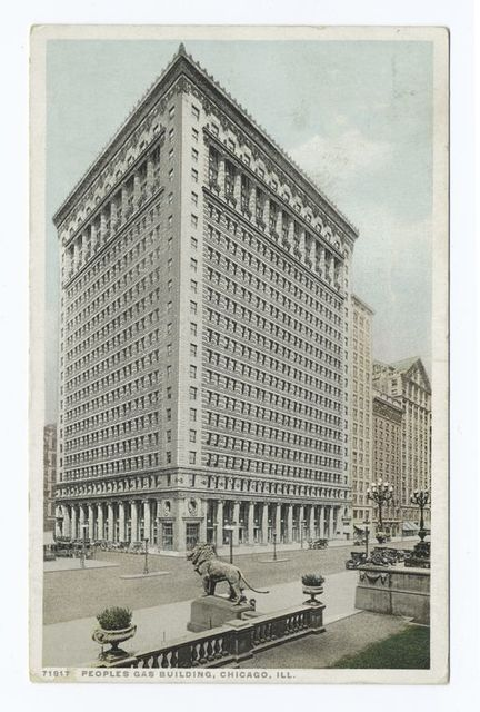 Peoples Gas Building, Chicago, Ill.