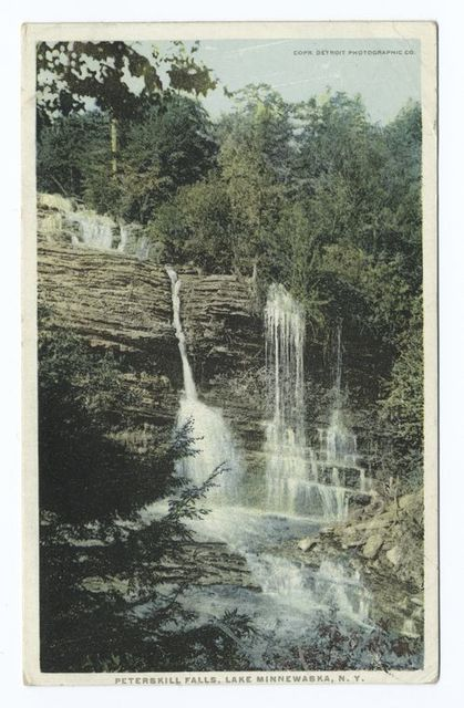 Peterskill Falls, Lake Minnewaska, N.Y.
