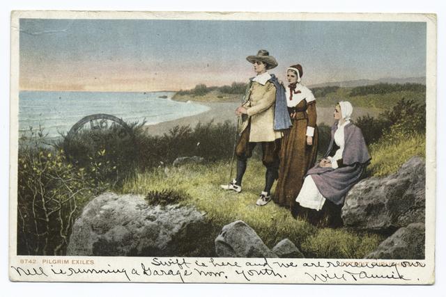 Pilgrim Exiles, Plymouth, Mass.