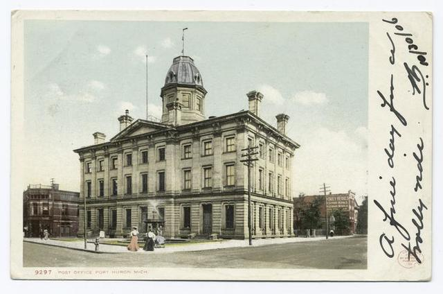 Post Office, Port Huron, Mich.