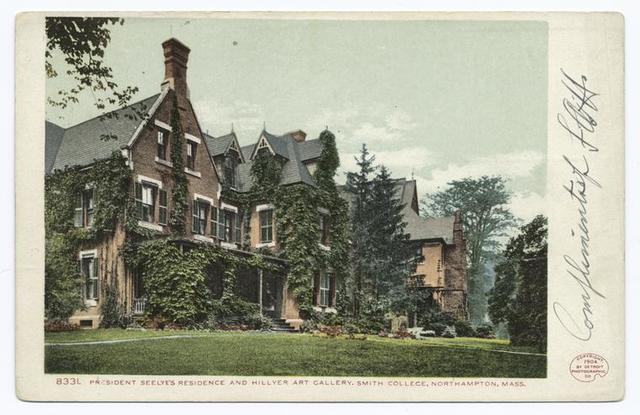Pres. Seelye's Residence, Smith College, Northampton, Mass.
