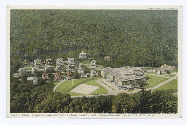 Profile House and Cottage, Franconia Notch, N. H.