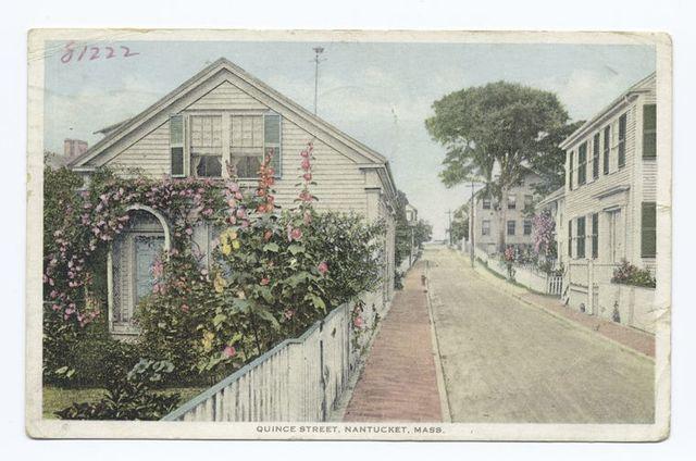 Quince Street, Nantucket, Mass.