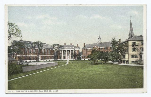 Radcliffe College, Cambridge, Mass.