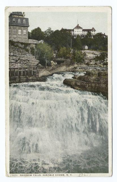 Rainbow Falls, Au Sable Chasm, N.Y.