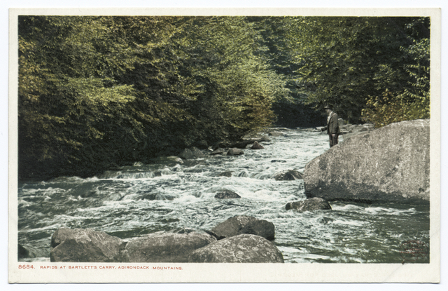 Rapids at Bartlett's Carry, Saranac Lakes, N. Y.