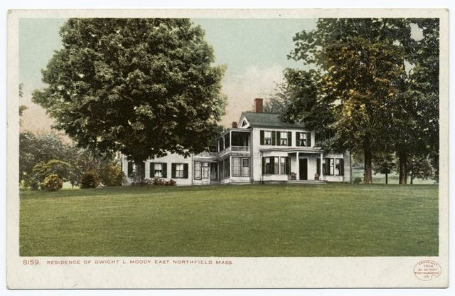 Residence of Dwight L. Moody, Northfield, Mass.