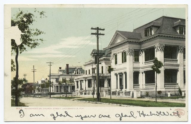 Residence on Church Street, Jacksonville, Fla.