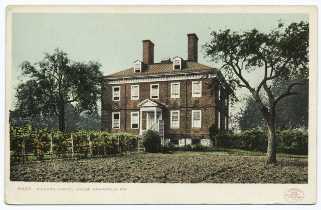 Richard Carval House, Annapolis, Md.