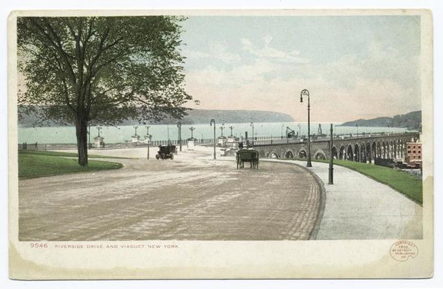 Riverside Drive and Viaduct, New York, N. Y.