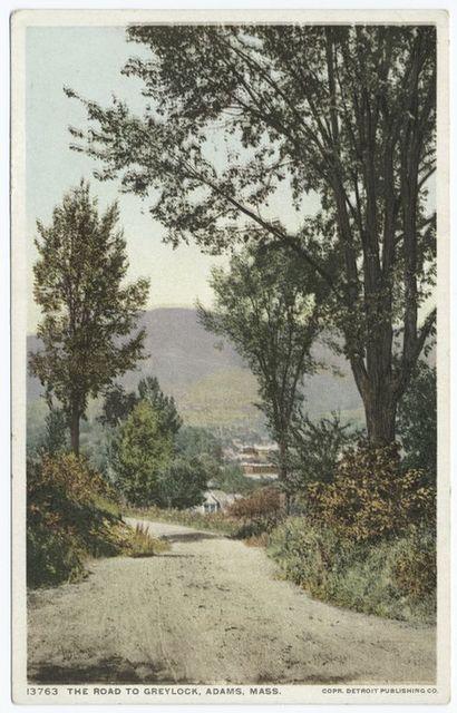 Road to Greylock, Adams, Mass.