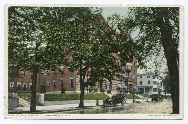Rockingham Hotel, Portsmouth, N.H.