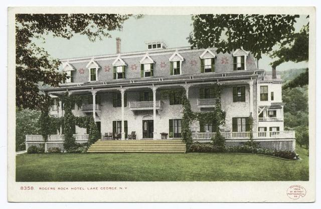 Rogers Rock Hotel, Lake George, N. Y.