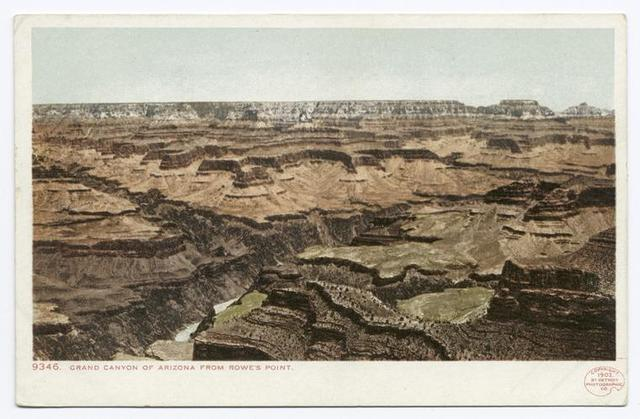 Rowe's Point, Grand Canyon, Ariz.