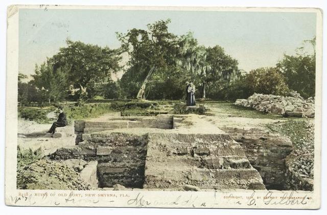 Ruins of Old Fort, New Smyrna, Fla.