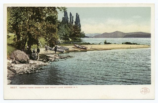 Sabbath Day Point, North, Lake George, N. Y.