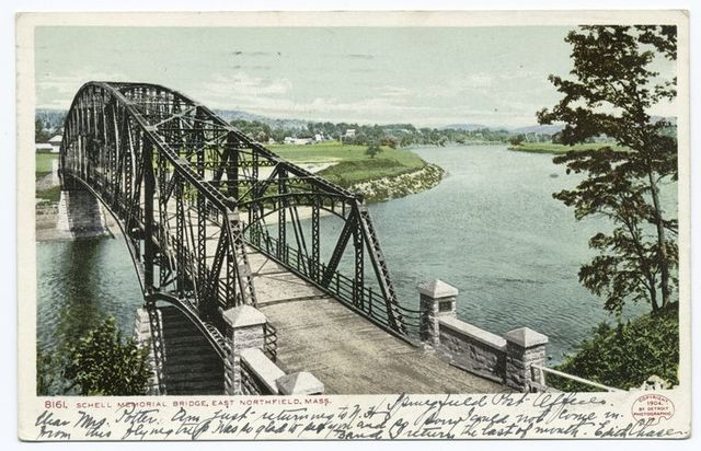 Schell Memorial Bridge, Northfield, Mass.