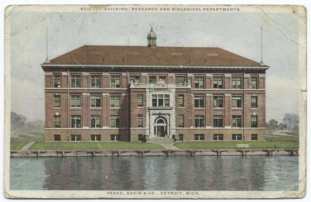 Science Building: Research and Biological Departments, Parke, Davis & Co., Detroit, Mich.