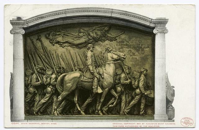 Shaw Memorial, Boston, Mass.
