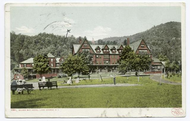 Silver Bay Hotel, Lake George, N. Y.