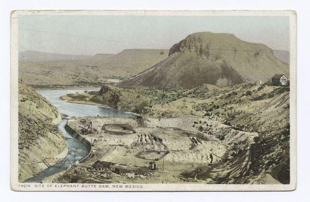 Site of Elephant Butte Dam, New Mexico