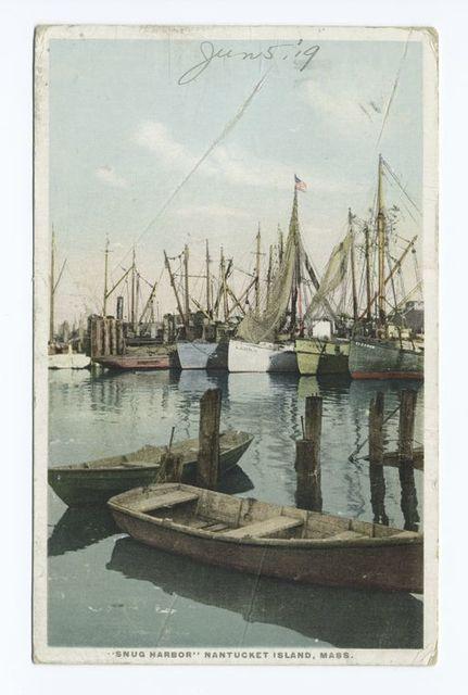 """Snug Harbor"", Nantucket Island, Mass."
