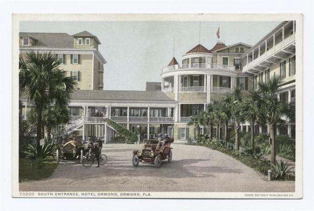 South Entrance, Hotel Ormond, Ormond, Fla.
