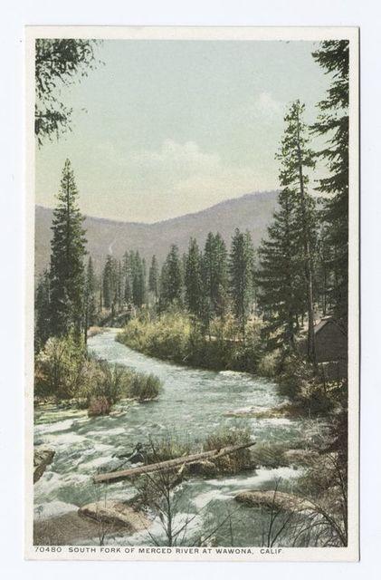 South Fork, Merced River, Wawona, Calif.