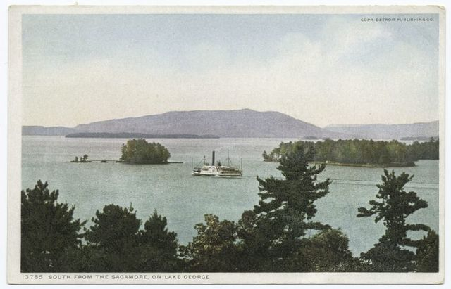 South from the Sagamore, Lake George, N. Y.