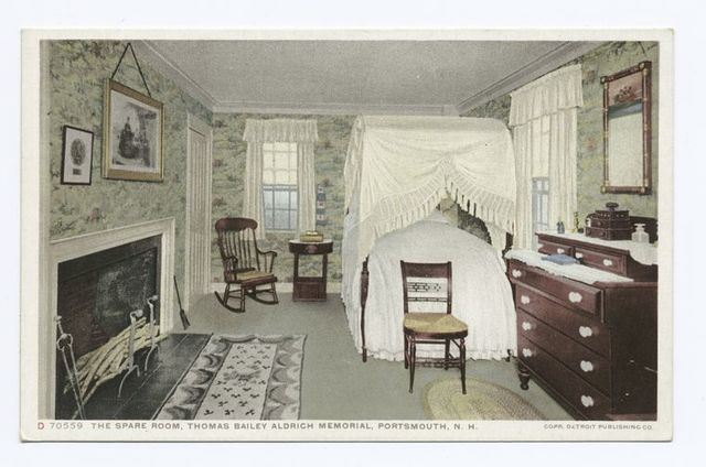 Spare Room, Thomas Bailey Aldrich Memorial, Portsmouth, N. H.