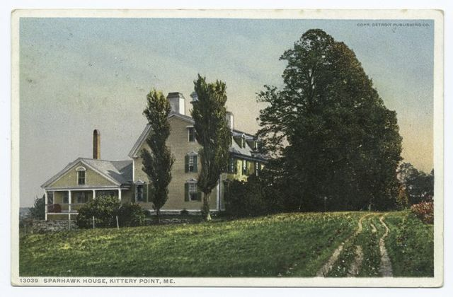 Sparhawk House, Kittery Point, Me.