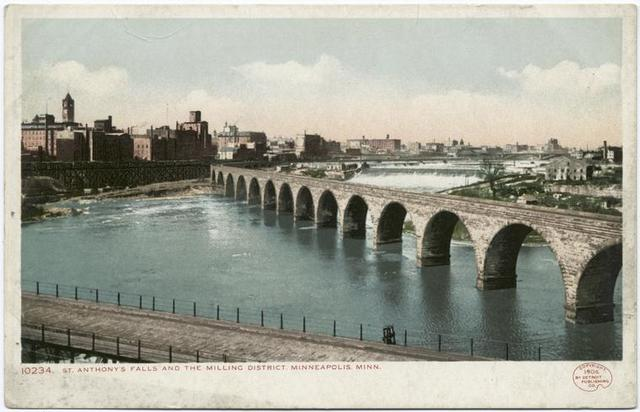 St. Anthony's Falls and Milling District, Minneapolis, Minn.