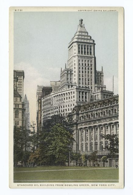 Standard Oil Building from Bowling Green, New York, N. Y.