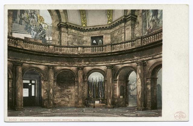 State House, Memorial Hall, Boston, Mass.
