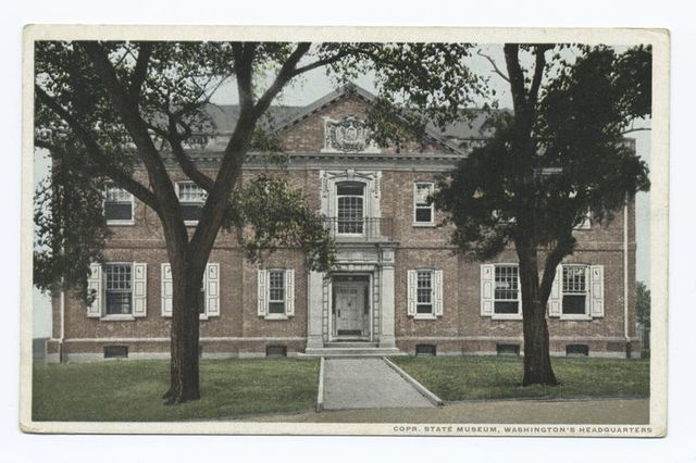 State Museum, Washington's Headquarters, Newburgh, N.Y. Opened May 27, 1910