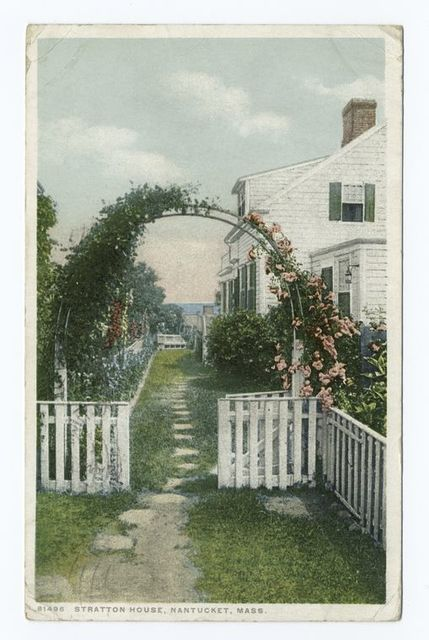 Stratton House, Nantucket, Mass.