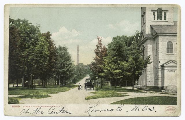 Street View, Bennington, Vt.