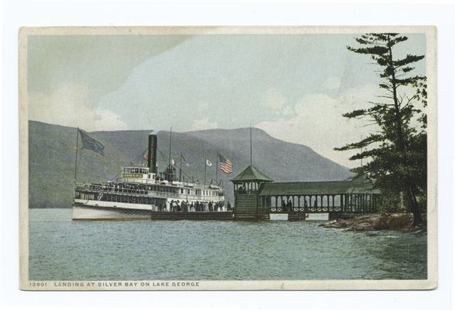 Strs. Sagamore at Silver Bay, Lake George, N. Y.