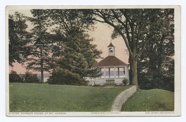 Summer House, Mt. Vernon, Va.